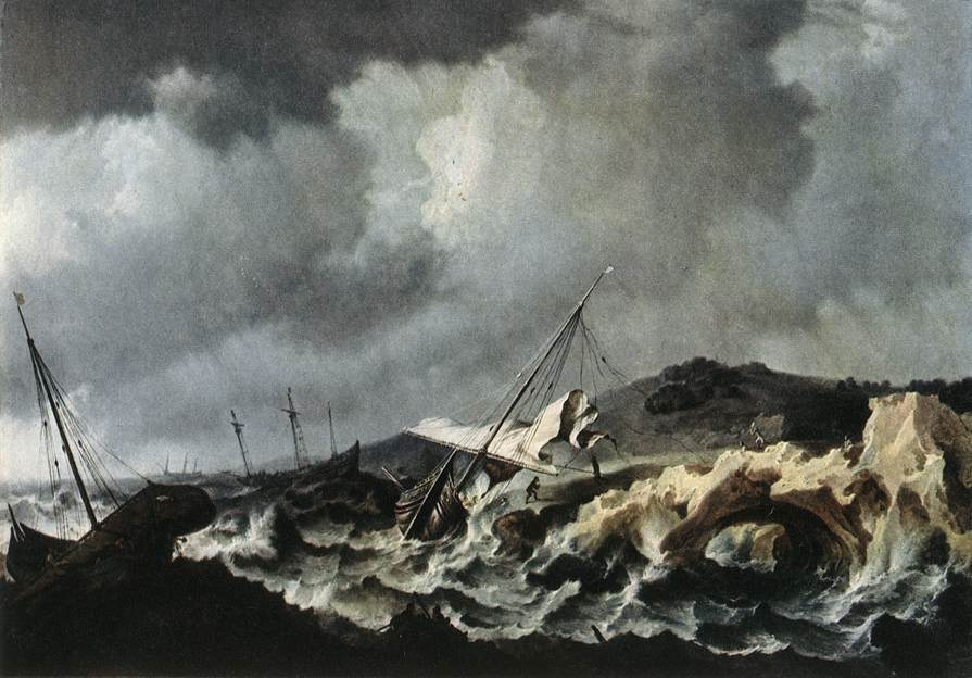 Shipwreck | Bonaventura The Elder Peeters | Oil Painting