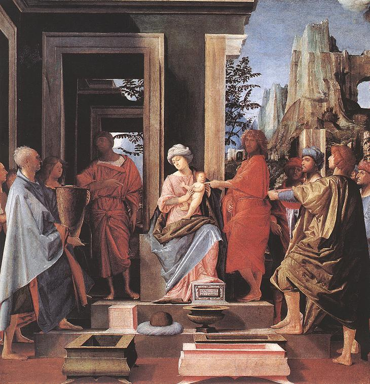 Adoration Of The Magi 1498 | Bramantino | Oil Painting