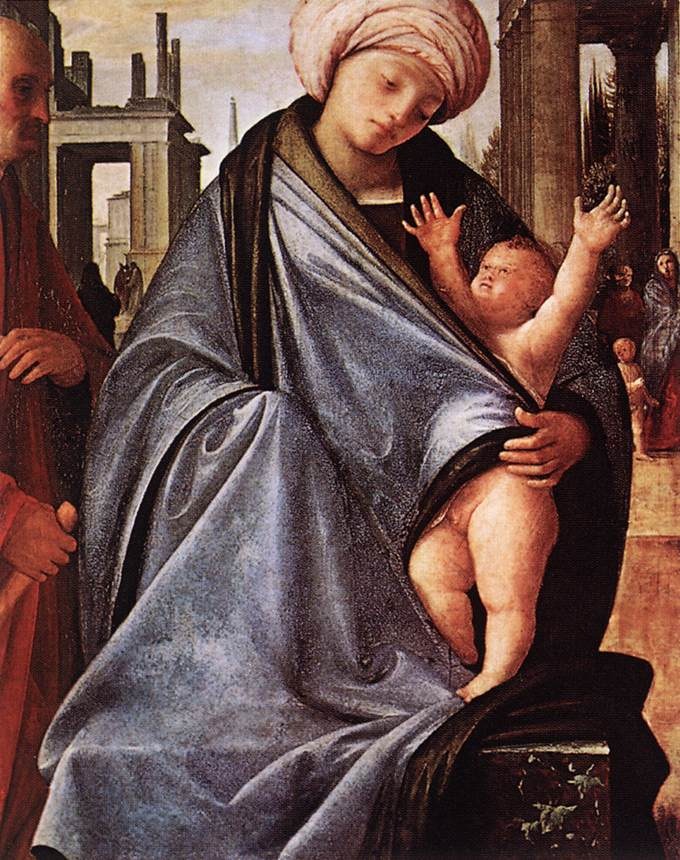 Holy Family 1520 | Bramantino | Oil Painting