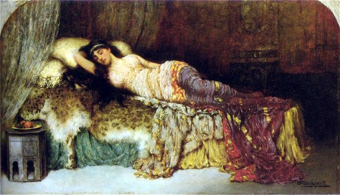 The Sleeping Beauty | Breakspeare-William | Oil Painting
