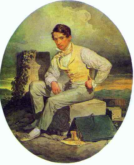 Self Portrait 1830   Brulloff-Alexander   Oil Painting