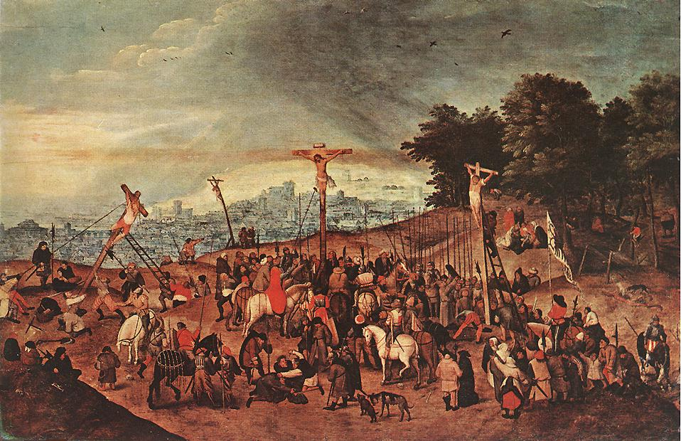 Crucifixion 1617 | Brulloff-Alexander | Oil Painting