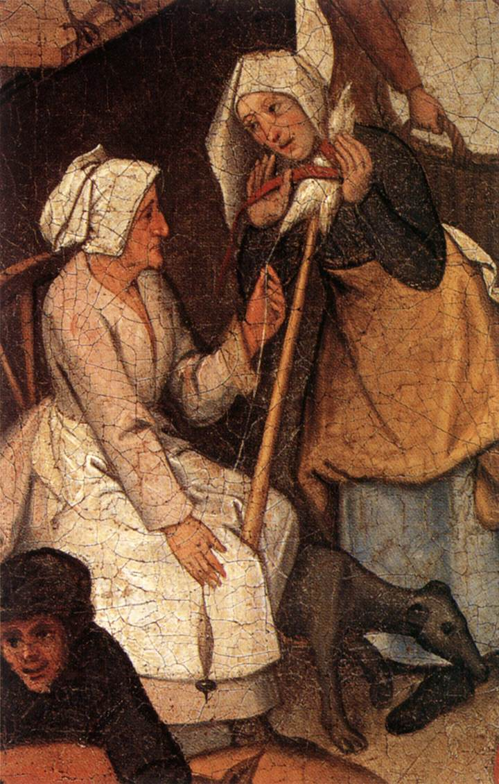 Proverbs (Detail) 3 | Brulloff-Alexander | Oil Painting