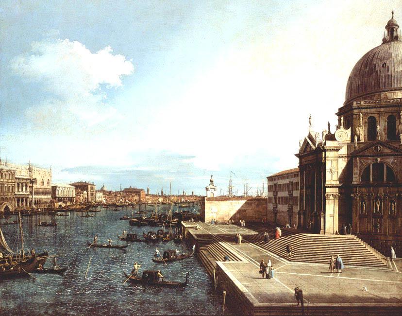 Santa Maria della Salute | Antonio Canal (Il Canaletto) | Oil Painting