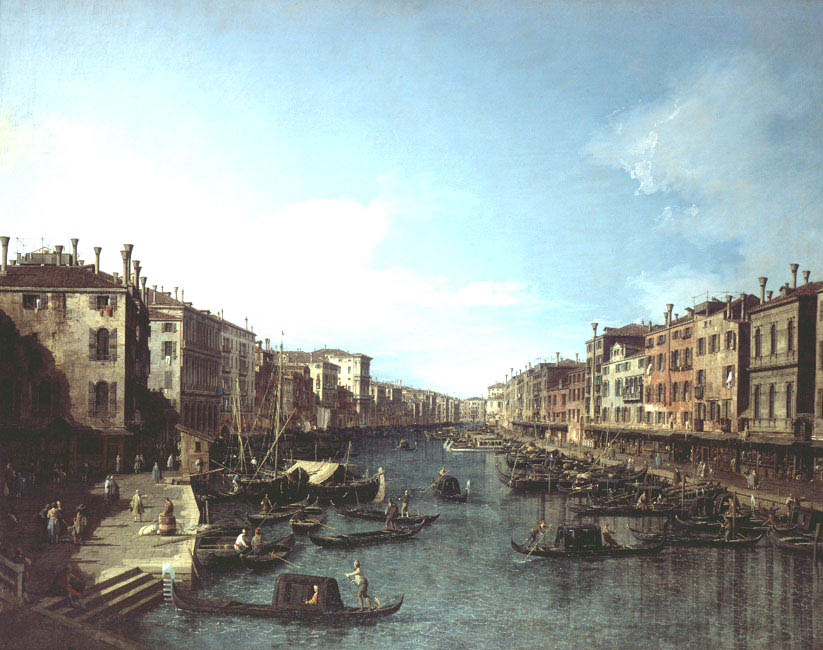 The Grand Canal | Antonio Canal (Il Canaletto) | Oil Painting