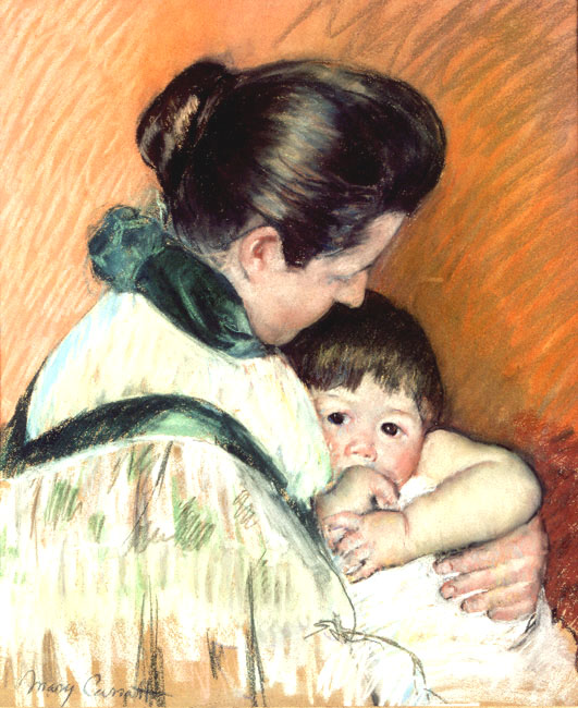 Mother and Child | Mary Cassatt | Oil Painting