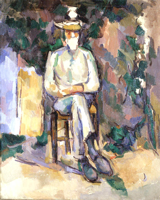The Old Gardener | Paul Cezanne | Oil Painting