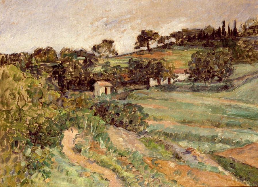 Landscape in Provence | Paul Cezanne | Oil Painting