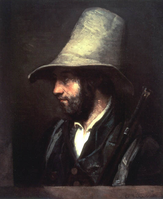 Portrait of a Hunter | Gustave Courbet | Oil Painting
