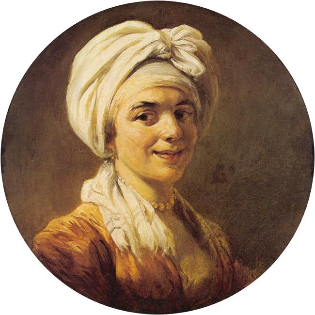 Portrait of Madame Fragonard | Jean Honore Fragonard | Oil Painting