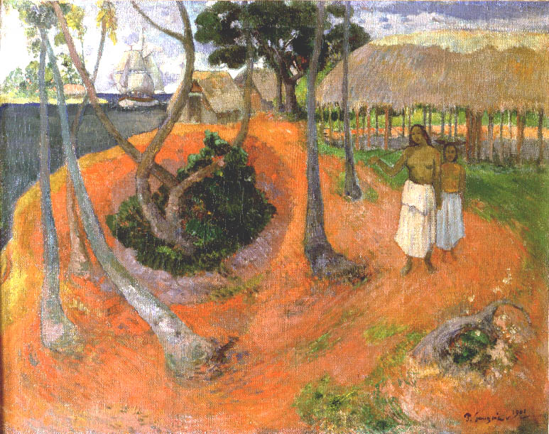 Idyll in Tahiti | Paul Gauguin | Oil Painting