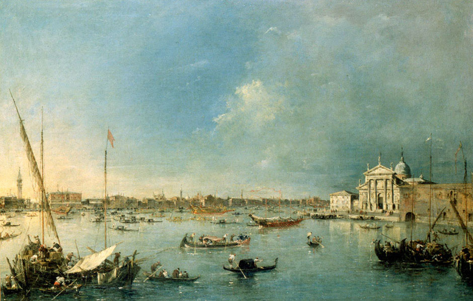 Bacino di San Marco | Francesco Guardi | Oil Painting