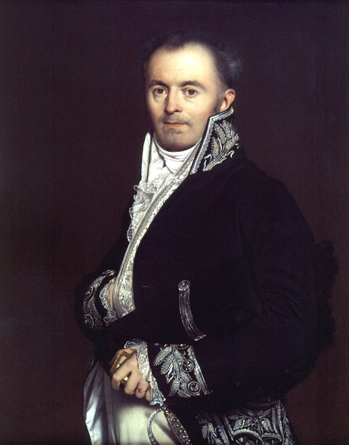 Portrait of Monsieur Devillers | Jean Auguste Dominique Ingres | Oil Painting