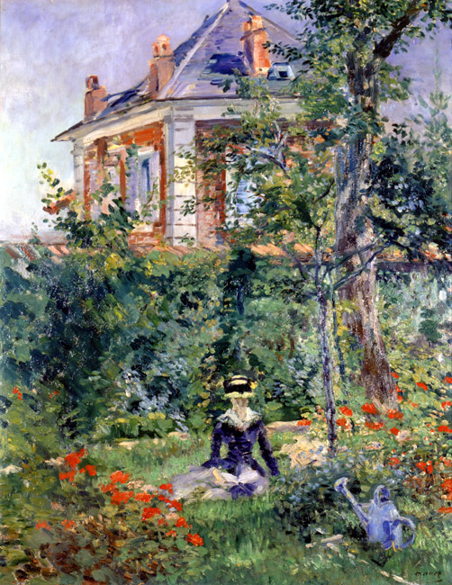 A Garden Nook at Bellevue | Eduard Manet | Oil Painting