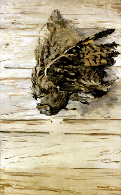 The Great Horned Owl | Eduard Manet | Oil Painting