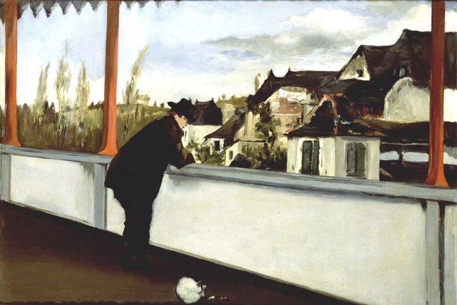 Oloron Sainte Marie | Eduard Manet | Oil Painting