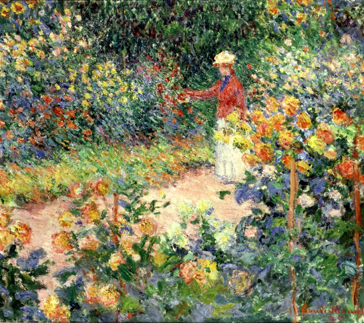Monet's Garden at Giverny | Claude Monet | Oil Painting