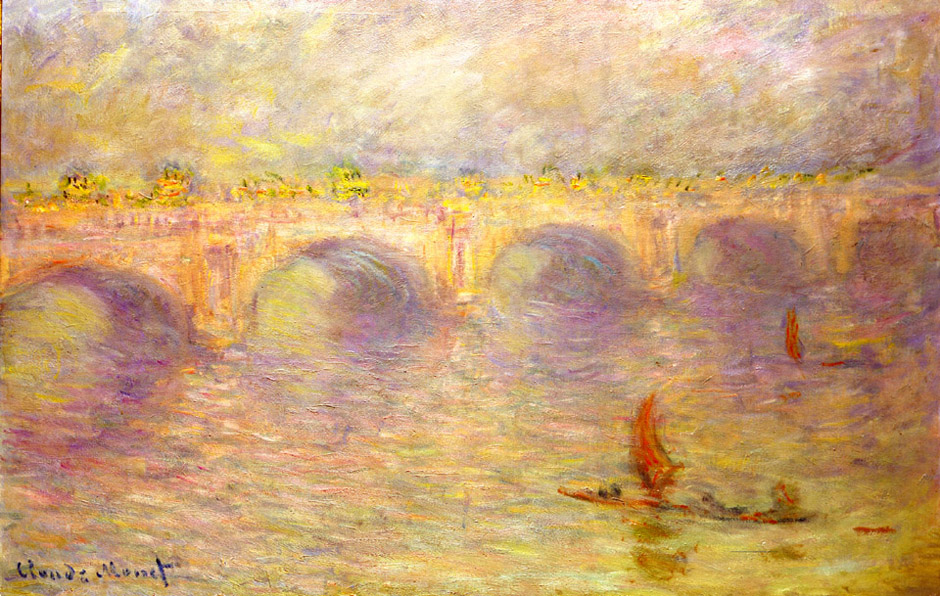 Waterloo Bridge | Claude Monet | Oil Painting