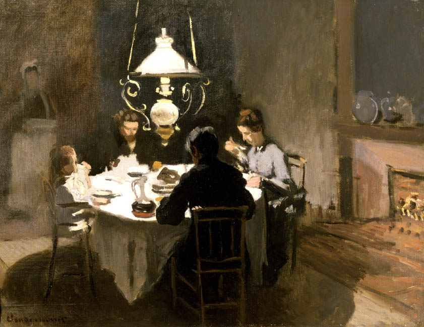 The Dinner | Claude Monet | Oil Painting