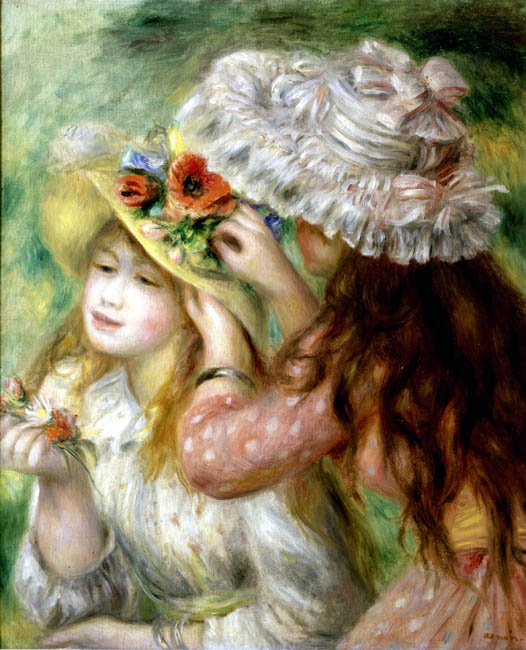 Summer Hats | Pierre Auguste Renoir | Oil Painting