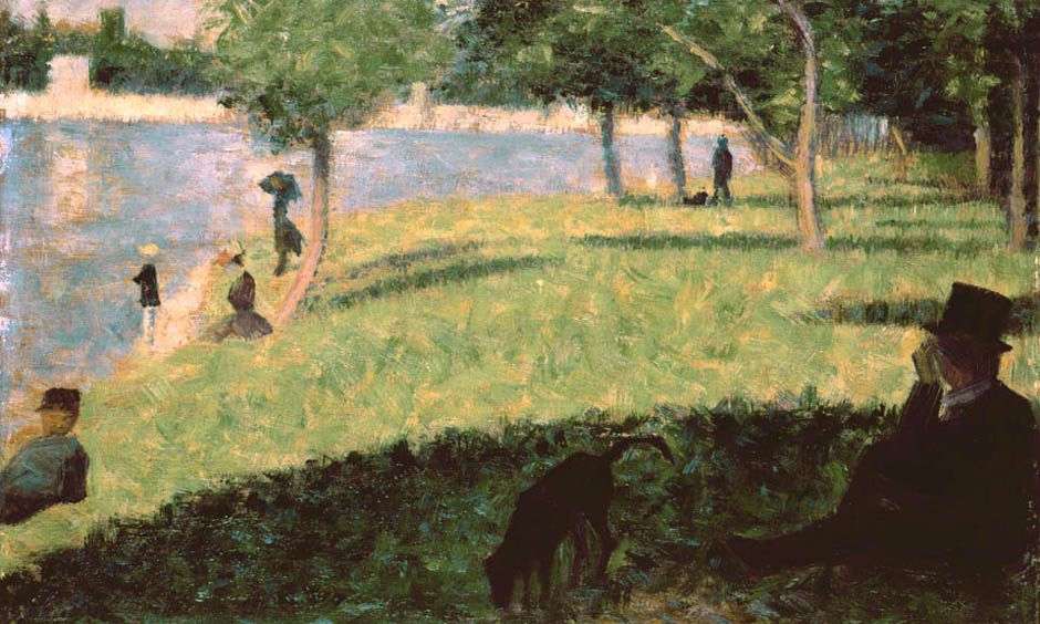Study for Sunday Afternoon on the Island of La Grande Jatte | Georges Seurat | Oil Painting