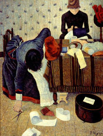 The Modistes   Paul Signac   Oil Painting