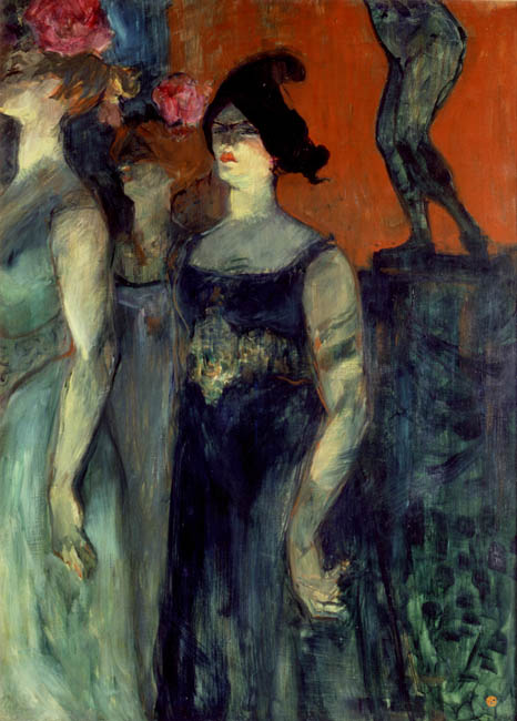 Messaline | Henri de Toulouse Lautrec | Oil Painting