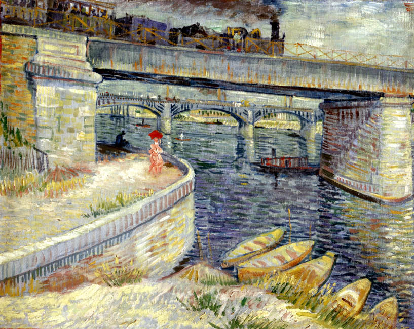 The Bridges at Asnieres | Vincent van Gogh | Oil Painting
