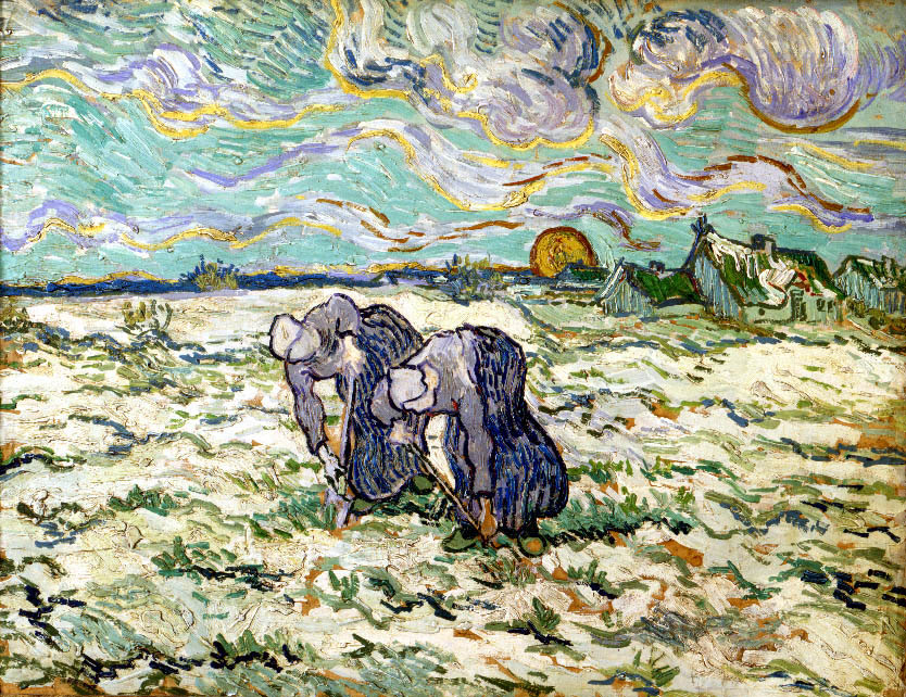 The Weeders (after Millet) | Vincent van Gogh | Oil Painting