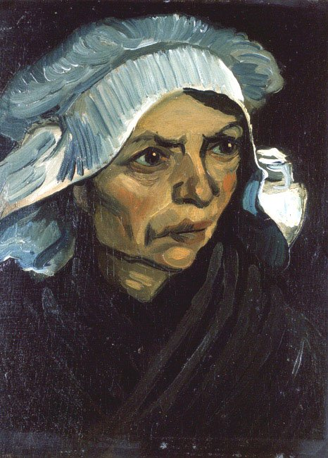 Peasant Woman | Vincent van Gogh | Oil Painting