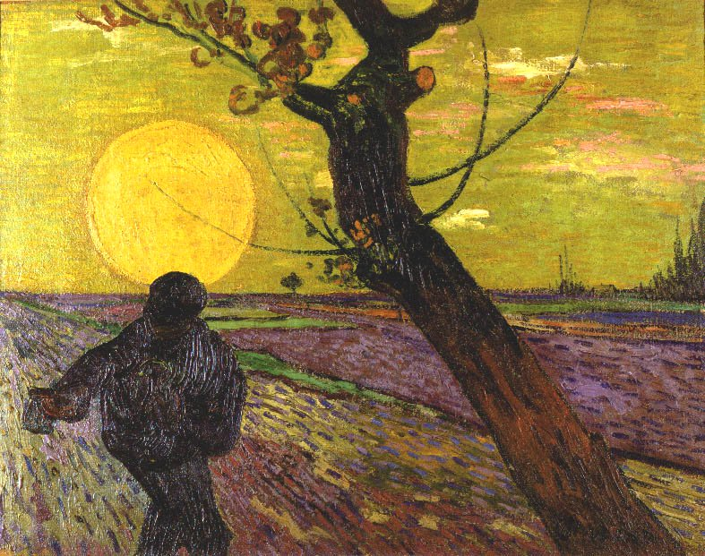 The Sower | Vincent van Gogh | Oil Painting