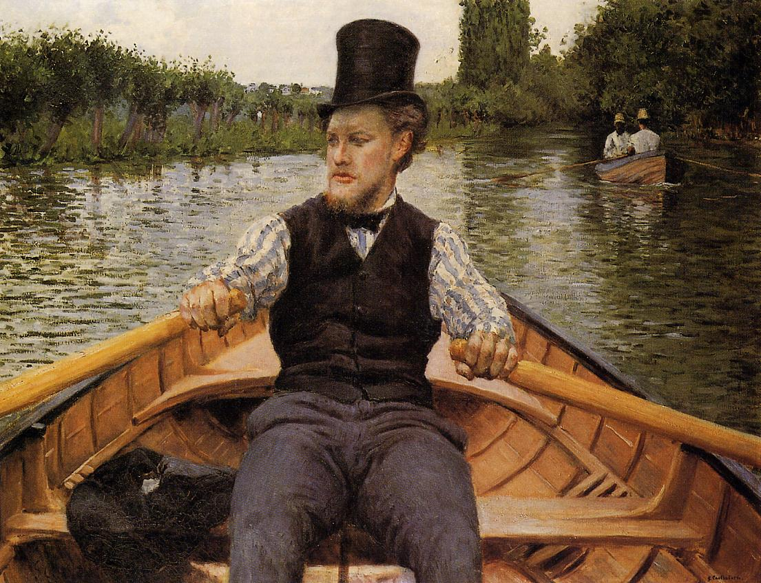Boating Party  1877 | Gustave Caillebotte | Oil Painting