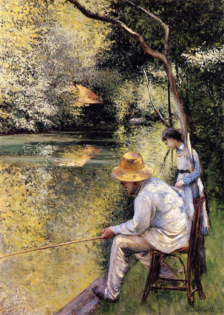 Fishing  1878 | Gustave Caillebotte | Oil Painting