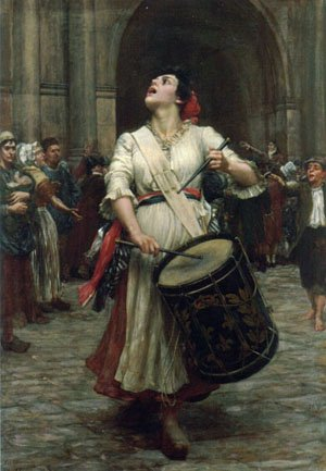 La Revolution | Cameron VaLEntinE Prinsep | Oil Painting