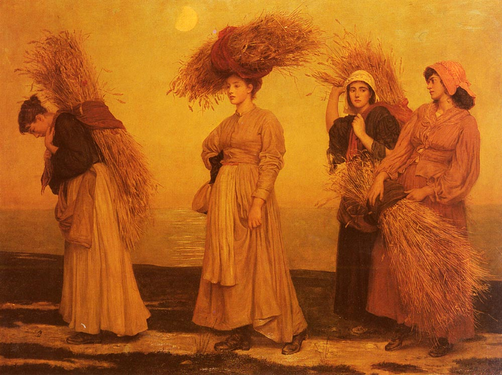 Home From Gleaning | Cameron VaLEntinE Prinsep | Oil Painting