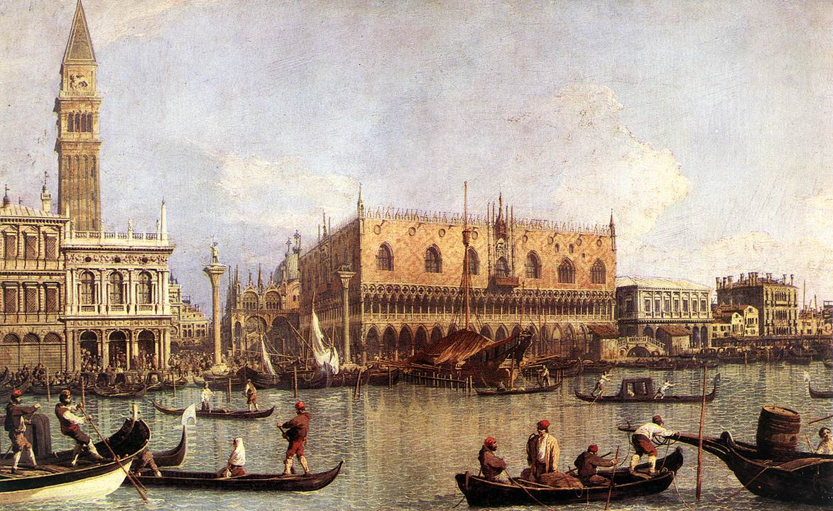 Palazzo Ducale and the Piazza di San Marco | Canaletto | Oil Painting