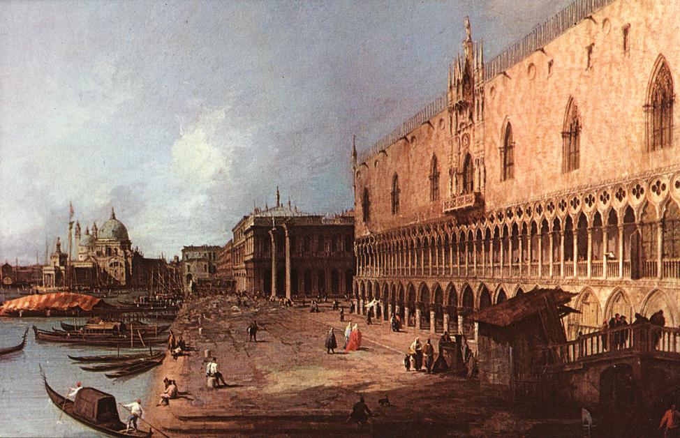 Doge Palace 1725 | Canaletto | Oil Painting