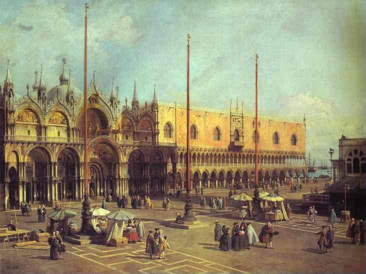 Piazza San Marco Looking South-East 1735-40 | Canaletto | Oil Painting