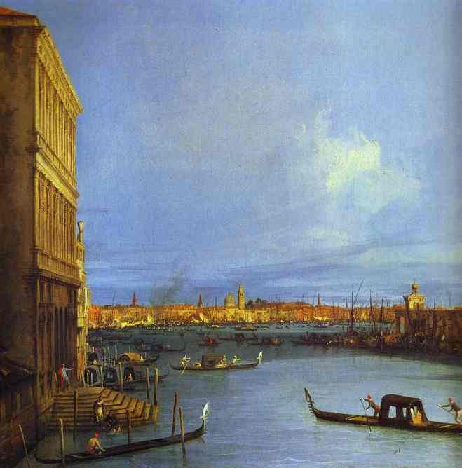 Santa Maria Della Salute Seen From The Grand Canal 1730 | Canaletto | Oil Painting