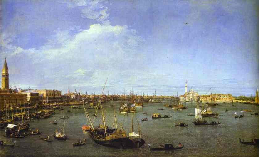 The Basin Of St Mark 1738-40 | Canaletto | Oil Painting