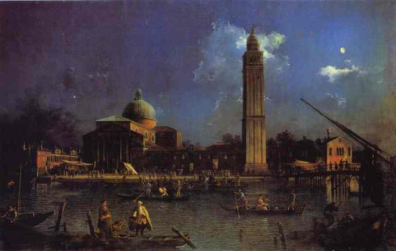 The Vigilia Di S Pietro 1755-56 | Canaletto | Oil Painting