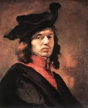 Self Portrait | Carel Fabritius | Oil Painting