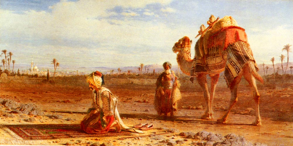 The Prayer | Carl Haag | Oil Painting