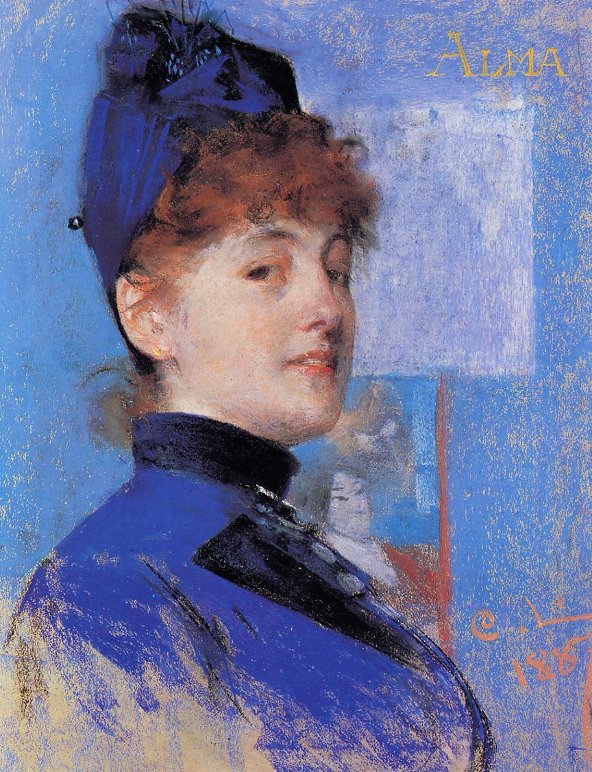 Alma 1887   Carl Larsson   Oil Painting