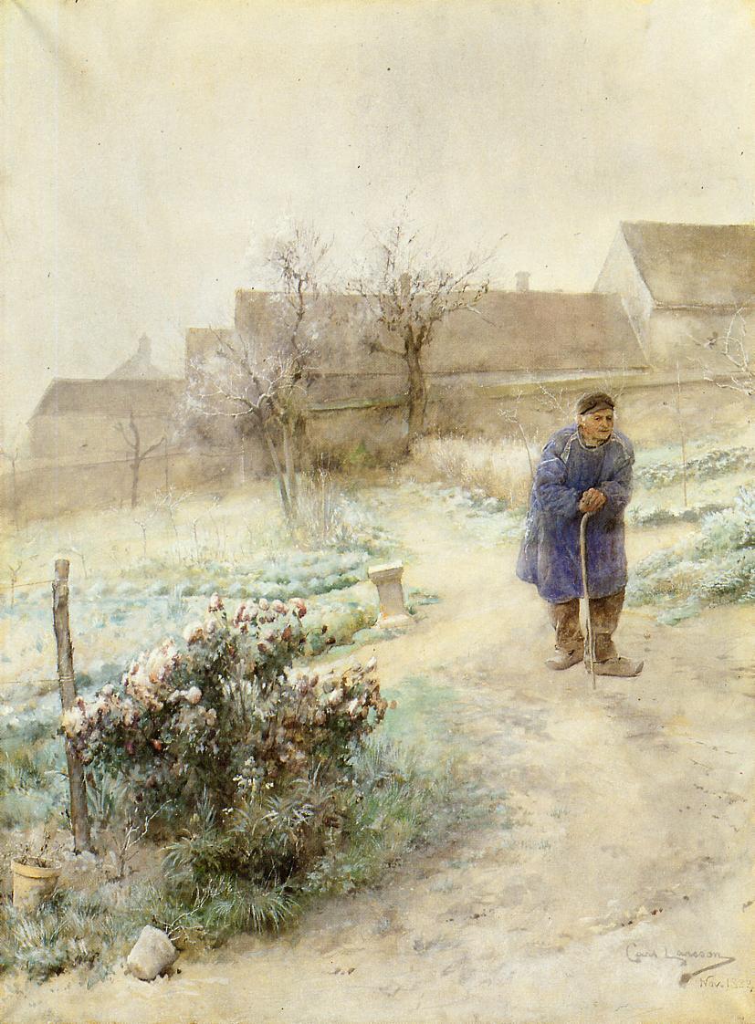 November 1882 | Carl Larsson | Oil Painting