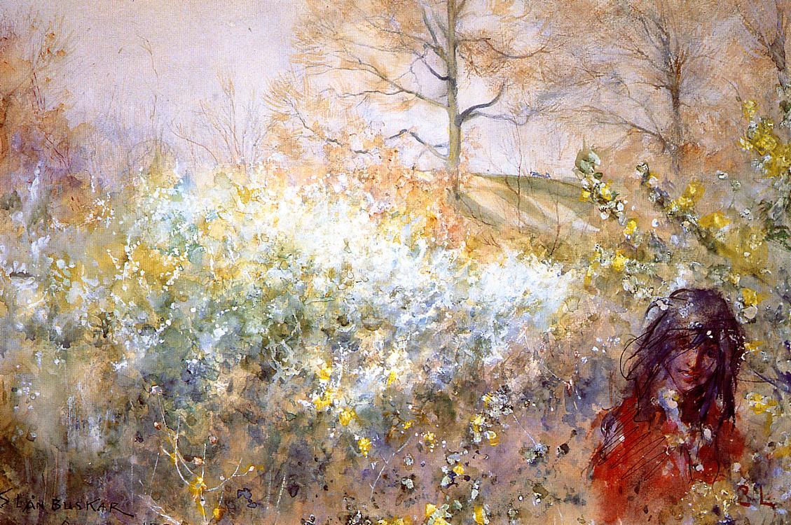 Slanbuskar 1884 | Carl Larsson | Oil Painting