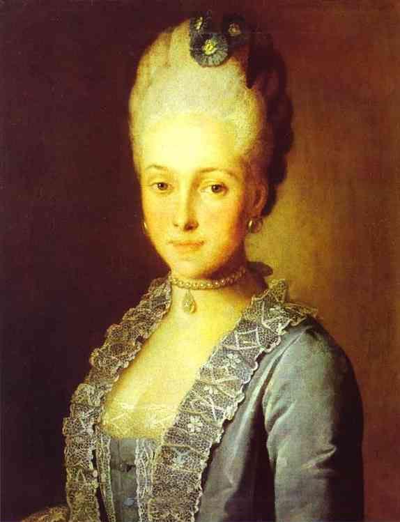 Portrait Of Alexandra Perfilyeva Nee Countess Tolstaya | Carl Ludwig Johann Christinek | Oil Painting