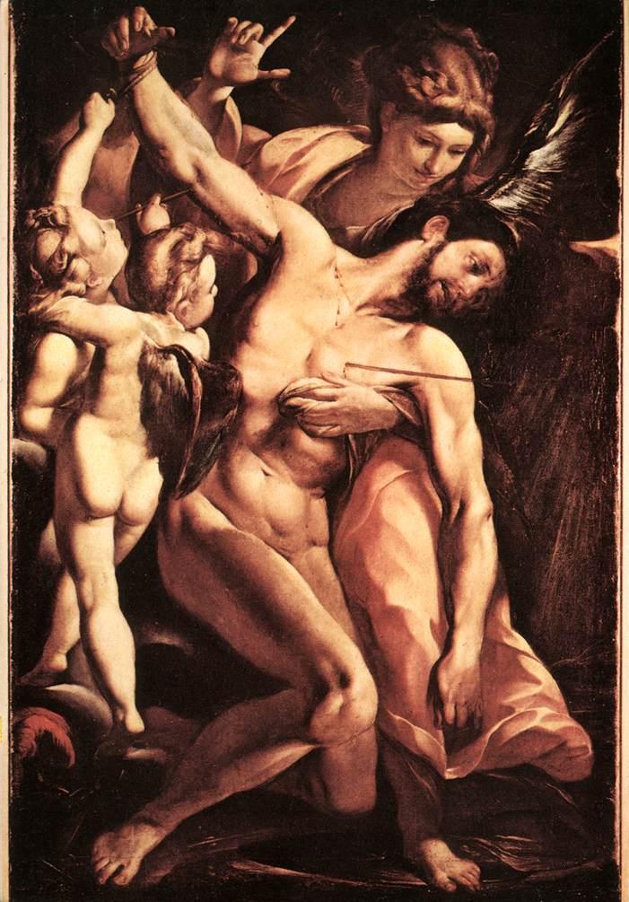 The Martyrdom Of St Sebastian | Carlo Antonio Procaccini | Oil Painting