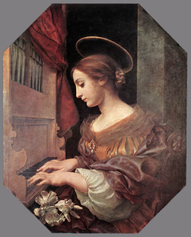 St Cecilia At The Organ 1671 | Carlo Dolci | Oil Painting