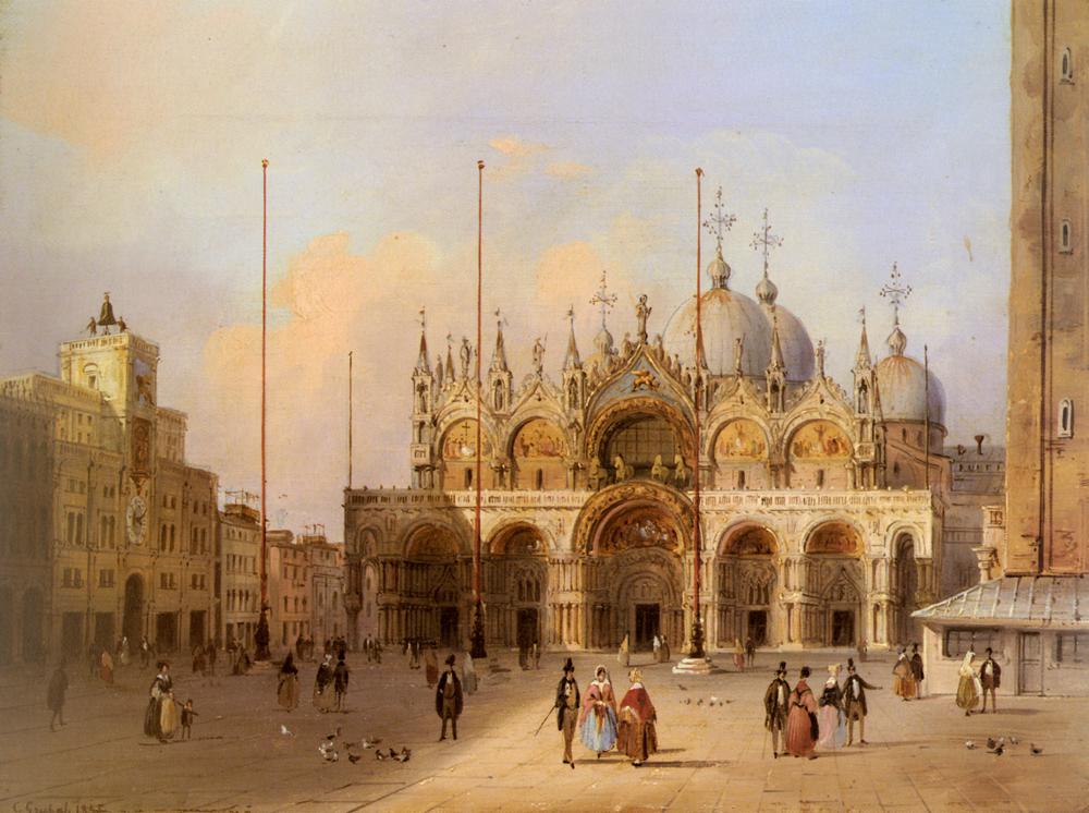 Basilica Di San Marco | Carlo Grubacs | Oil Painting